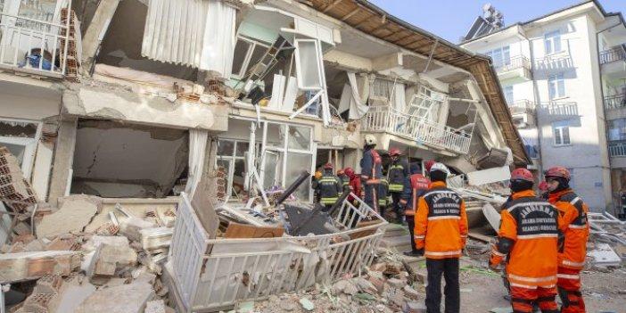 41 kişi hayatını kaybetmişti…  Elazığ depreminin raporu yayımlandı