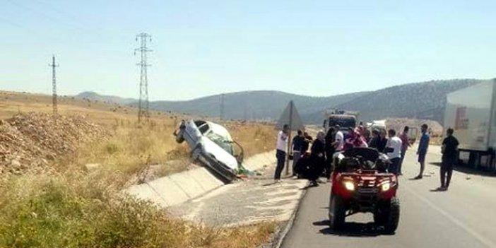 Afyonkarahisar'da kafreden kaza! 4 yaşındaki Elif hayatını kaybetti