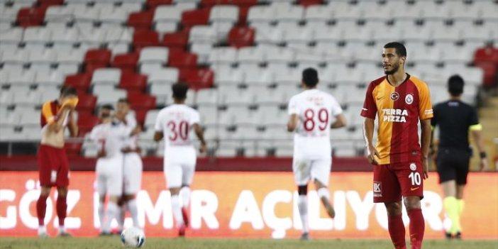 Galatasaray ve Antalya yenişemedi