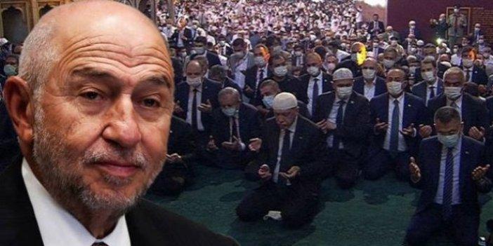 """TFF Başkanı Nihat Özdemir: """"Ayasofya'da Fetih Suresi okunurken hüngür hüngür ağladım"""""""
