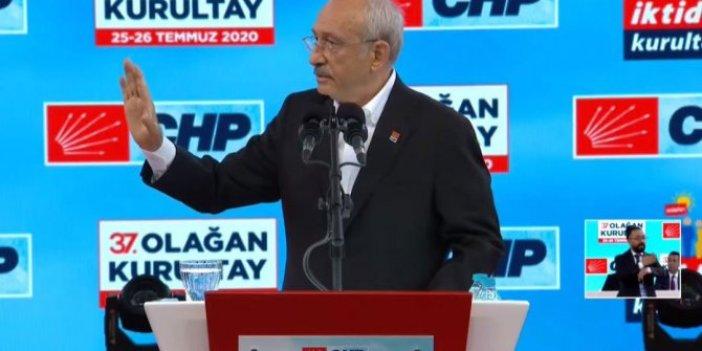 Kılıçdaroğlu, CHP kurultayında iktidar manifestosunu açıkladı