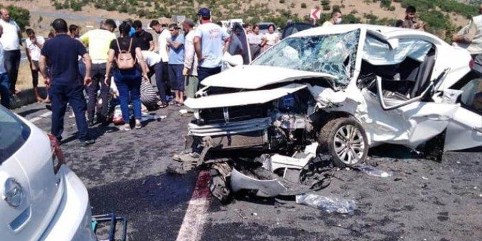 Bingöl'de kaza: 2 ölü, 5 yaralı