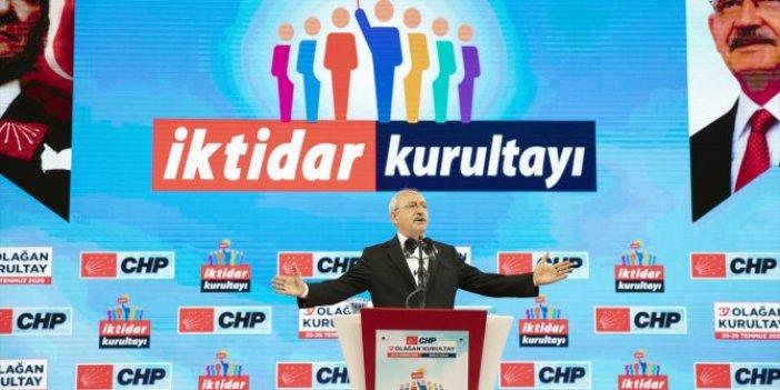 CHP'de Kılıçdaroğlu yeniden genel başkan