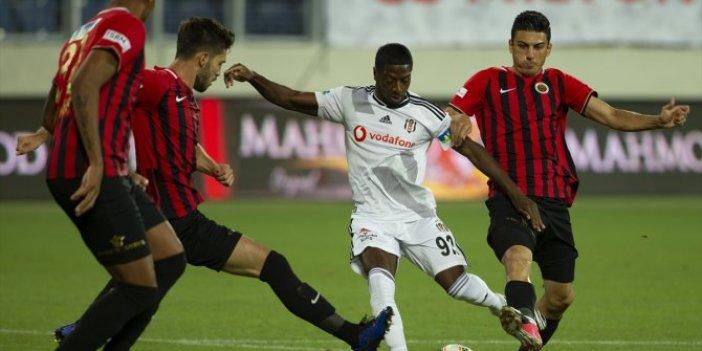 Beşiktaş, Gençlerbirliği'ni 1-0 yendi