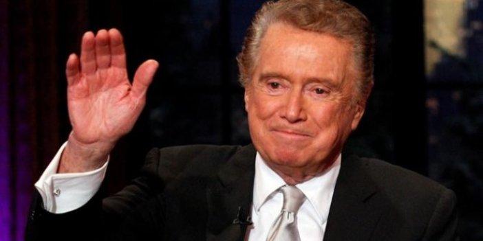 ABD'li ünlü sunucu Regis Philbin hayatını kaybetti