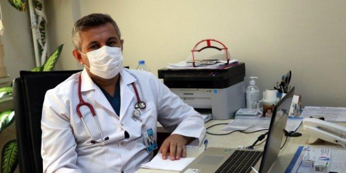 Koronayı yenen doktor anlattı:Nefesim ağzımda dönüp durdu