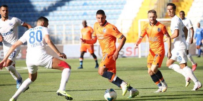 Şampiyon Başakşehir, sezonu mağlubiyetle tamamladı