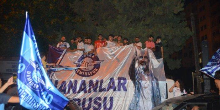 Adana Demirspor finalde! Adana sokaklarında büyük sevinç