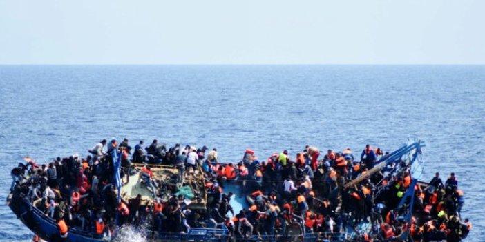 İnsanlık Akdeniz'de boğuldu: Biri bebek 95 kişi ölüme terk edildi