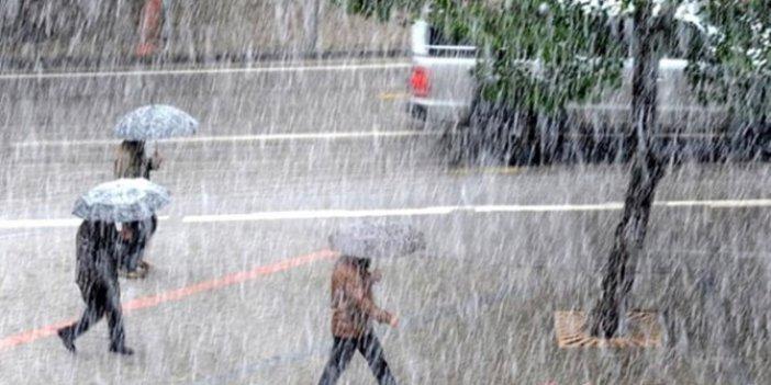 Meteoroloji sarı alarm verdi! 16 il için sel ve fırtına uyarısı