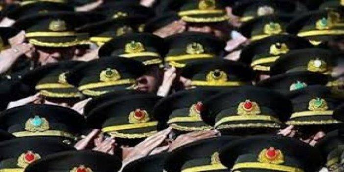 4 general ve 60 albay emekliliğe sevk edildi