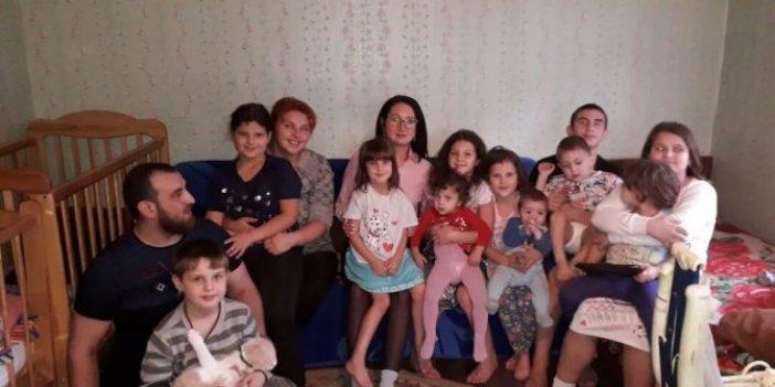 Rusya'da 32 yaşındaki kadın 12'nci kez anne oldu