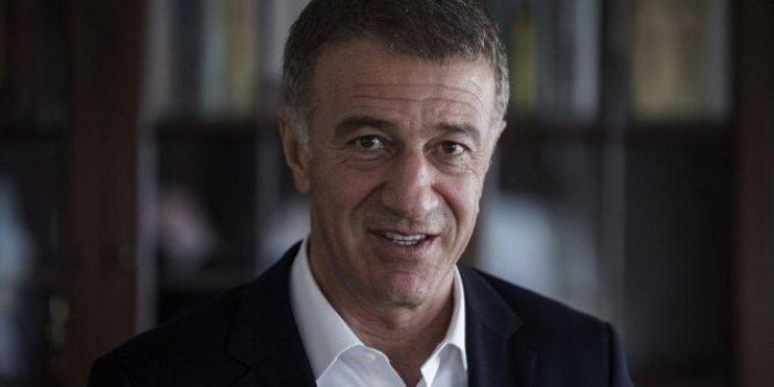 Trabzonspor Kulübü Başkanı Ahmet Ağaoğlu'ndan CAS açıklaması