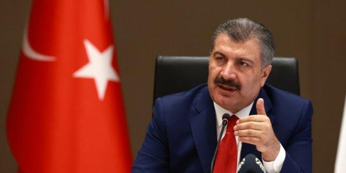 Sağlık Bakanı Fahrettin Koca, tanı kitlerinde oynanan oyunu açıkladı