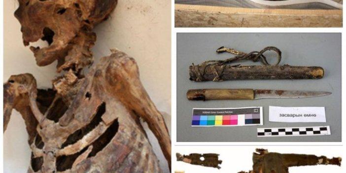 1000 yıl önce ölmüş Türk kadınının mezarından çıkanları paylaştı: Dikkat çeken ayrıntıyı açıkladı