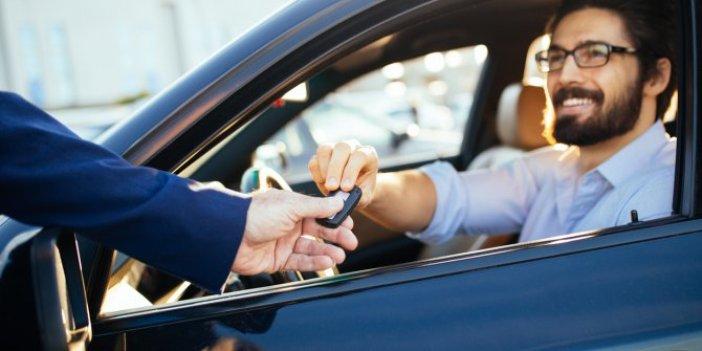 Bayramda araç kiralayacaklara önemli uyarı
