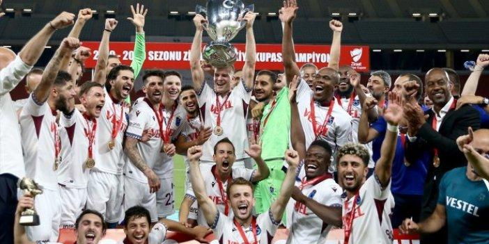 9. kez kupanın sahibi oldu! Trabzonspor 10 yıllık hasreti bitirdi