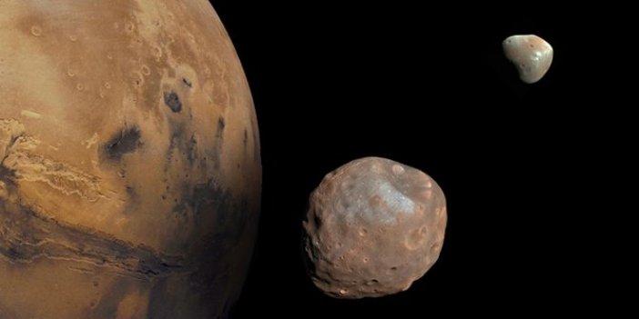 Şans eseri keşfedildi: Mars'ın yörüngesinden falso aldı, Dünya'ya yöneliyor