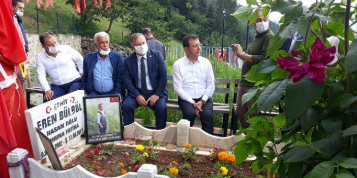 Ekrem İmamoğlu'ndan Eren Bülbül'ün mezarına ziyaret