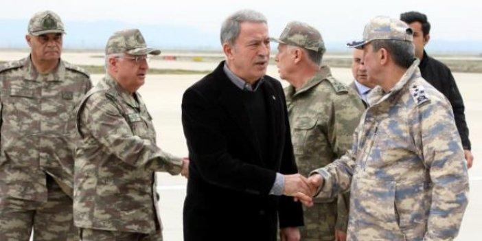 Bakan Akar ile komuta kademesi Yunanistan ve Bulgaristan sınırlarında