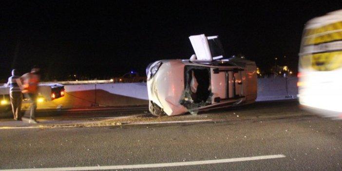 Bayramın ilk saatlerinde kaza bilançosu! Trafik kurallarını yabana yaşamı riske atma