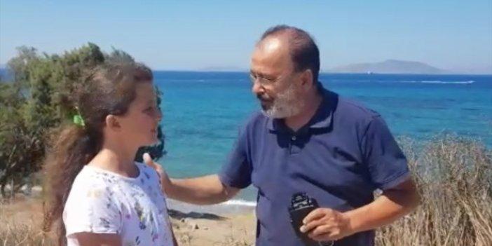 Emniyet Müdürü 15 gün önce denizde kaybolan telefonu suyun altında buldu