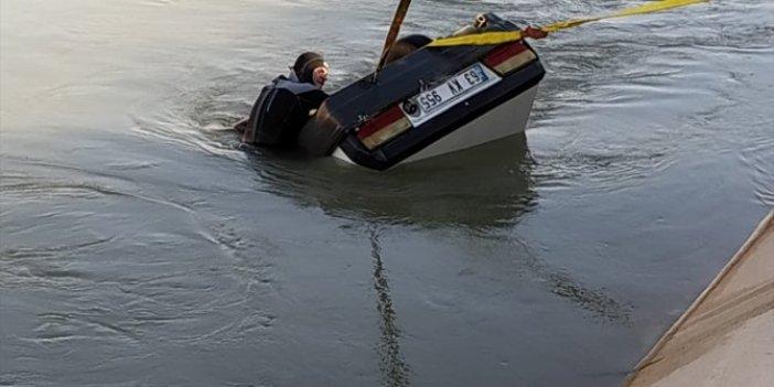 Şanlıurfa'da korkunç kaza! Amca ile yeğen sulama kanalına uçtular