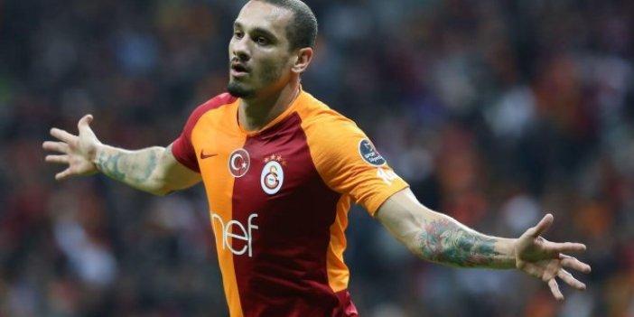 Maicon, Galatasaray'a veda etti