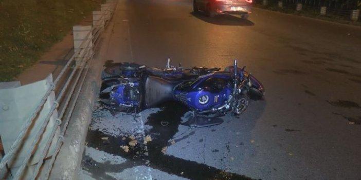 İstanbul Sarıyer'de feci motosiklet kazası! 2 ölü