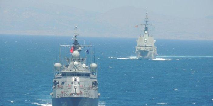MSB duyurdu: Kuzey Ege'de deniz eğitimleri icra edildi