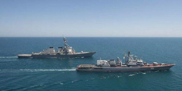 Amerikan savaş gemileri Karadeniz'de