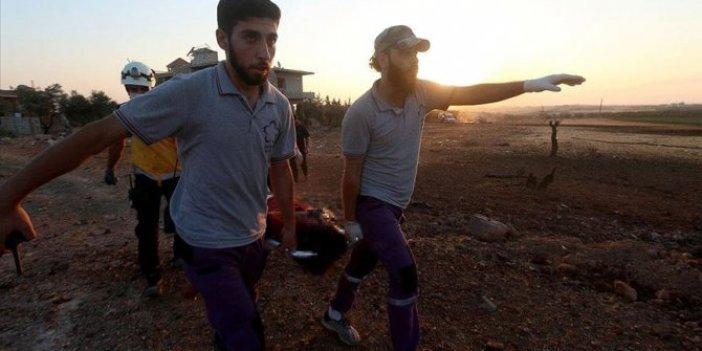 İdlib'e hava saldırısı: 3 ölü