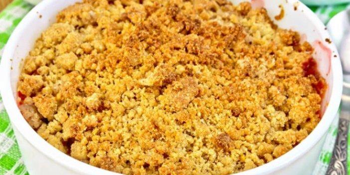 Kayısılı krambıl (crumble) tarifi… Kayısılı crumble nasıl yapılır? Masterchef 2020 en lezzetli kayısılı crumble tarifi