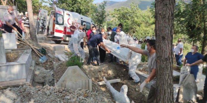 Korona virüs nedeniyle yaşamını yitiren genç doktor, memleketi Osmaniye'de defnedildi