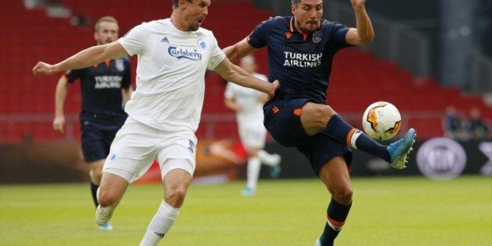 Başakşehir Avrupa'ya veda etti! Kopenhag - Başakşehir: 3-0