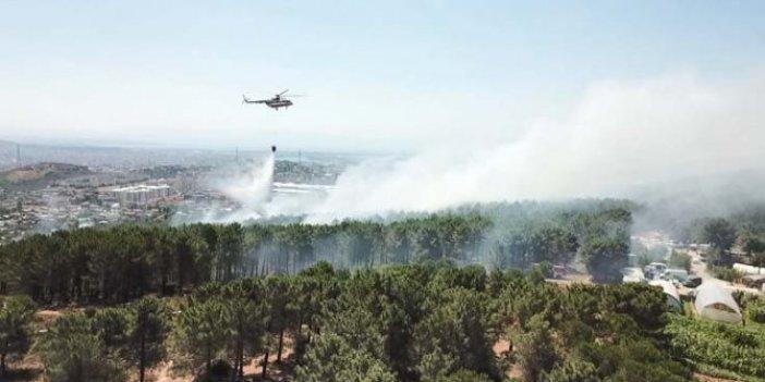 Kartal Aydos Orman yangınında bir kişi serbest