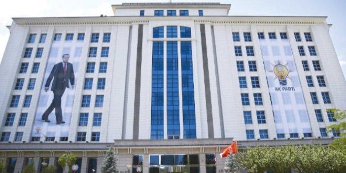 AKP Genel Merkezi 12 ismin istifasını istedi