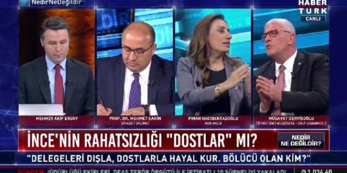 Müsavat Dervişoğlu canlı yayında patladı: