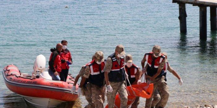 Van Gölü'nden 61 ceset çıkartıldı