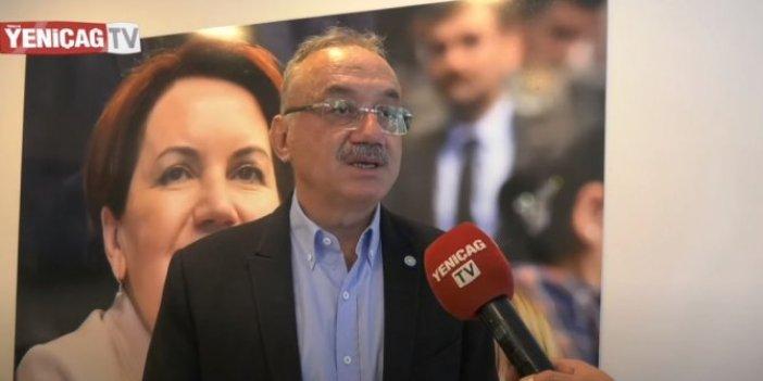 """İYİ Partili Tatlıoğlu net konuştu: """"Önce kadrolar değişmeli sonra Erdoğan gitmeli"""""""