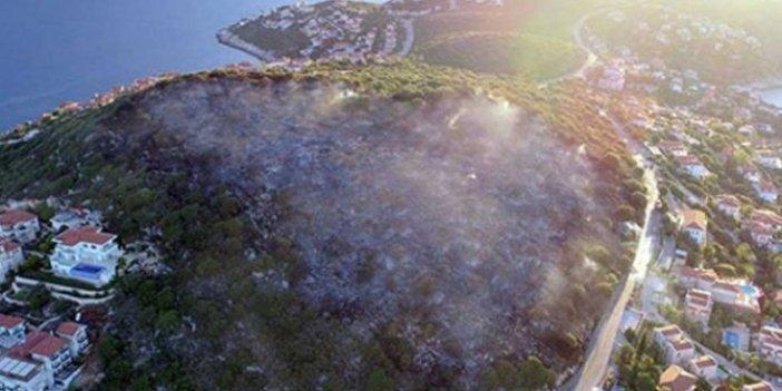 Kaş'ta bir otele yetecek kadar yanan alana imar çıktı: Allah'ın işine bak tam o kadarlık alan yandı