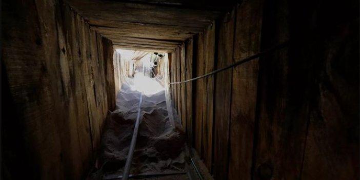 ABD- Meksika sınırında ileri teknolojiye sahip gizemli tünel!