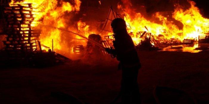 Kocaeli'nde korkutan yangın