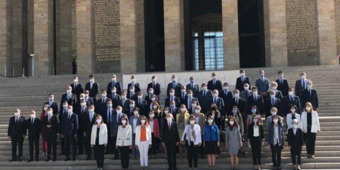 Kılıçdaroğlu ve CHP PM üyelerinden Anıtkabir'e ziyaret