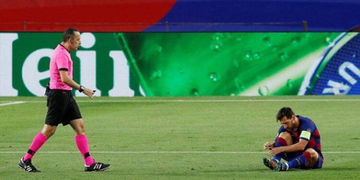 Camp Nou'da Messi ve Cüneyt Çakır'ın gecesi: İki penaltı verdi, iki kararını VAR değiştirdi