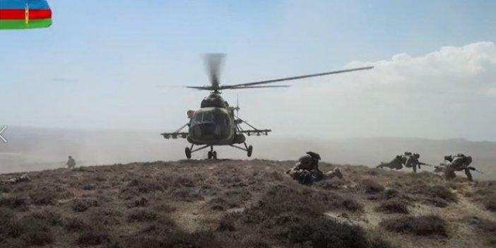 Azerbaycan ve Türk özel kuvvetlerinden ortak tatbikat kapsamında stratejik noktalara taarruz