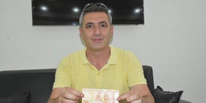 Parayı ATM'ye yatırmak isterken gerçeği öğrendi, birinin verdiği parayı diğeri almadı