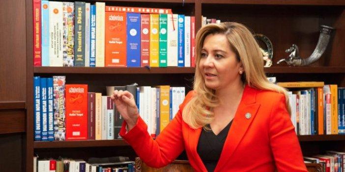 İYİ Partili Aylin Cesur'dan İstanbul Sözleşmesi açıklaması