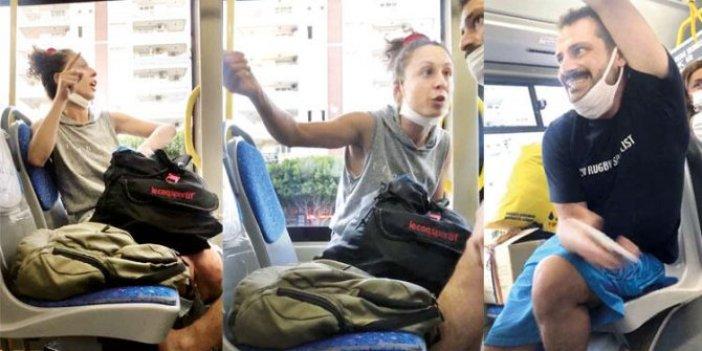 Otobüste maskeyi çıkarıp bilinçli öksürdü! Antalya'da insanlık dışı olay Bunu yapan bir de avukat