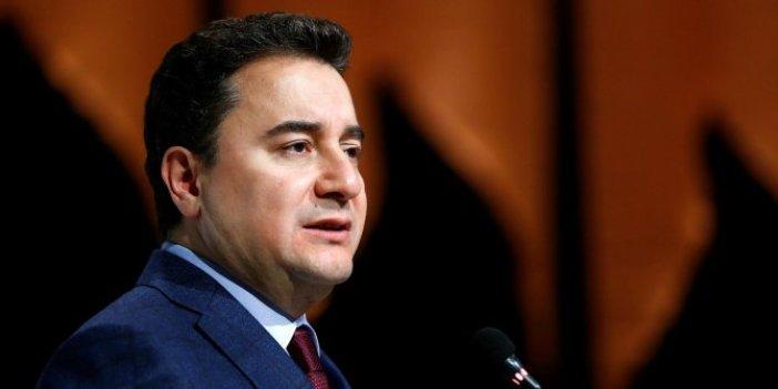 """Ali Babacan """"Tek bir kurtuluş yolu var"""" dedi ve canlı yayında önerisini açıkladı"""
